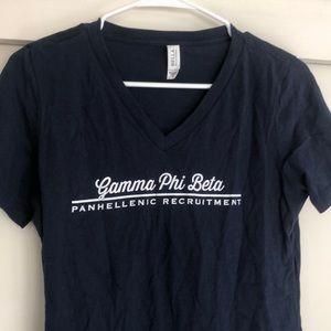 Gamma Phi Beta t shirt